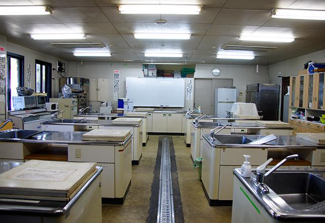 農産物加工実習室