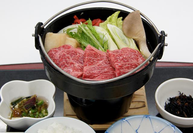 近江牛すき焼き定食
