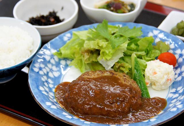 近江牛ハンバーグ定食