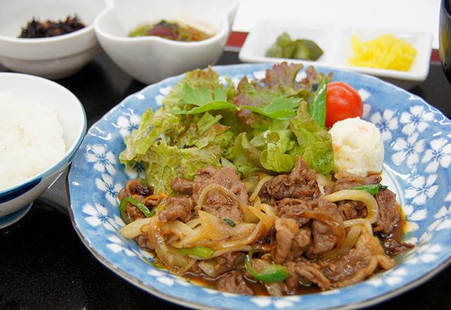 近江牛焼肉定食